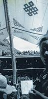 作品画像:地蔵建立 ラサ(祭り)、1993年8月12日