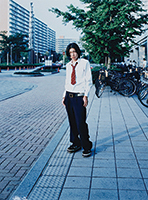 作品画像:「TOKYO SUBURBIA 東京郊外」少年-7、千葉県