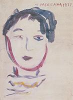 作品画像:女の顔