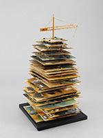 作品画像:バベルの塔(P.ブリューゲル)