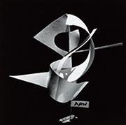 作品画像:「APN」(『アサヒグラフ』1953年4月15日号)のための構成