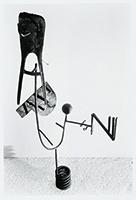 作品画像:「APN」(『アサヒグラフ』1953年10月21日号)のための構成