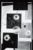 作品画像:「APN」(『アサヒグラフ』1953年10月28日号)のための構成