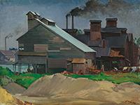 作品画像:町工場