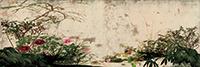 作品画像:四季草花図