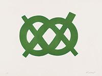 作品画像:Double Tie Up – Green