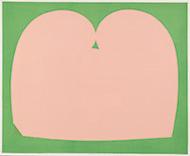 作品画像:morning pink and green