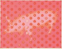 作品画像:pink pig in the wall
