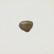"""作品画像:Surface is the Between - Between Vertical and Horizon - """"Five stones on Paper no.7"""""""