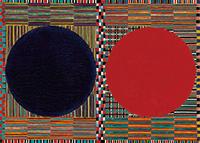 作品画像:二つの円