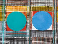 作品画像:緑と青の丸