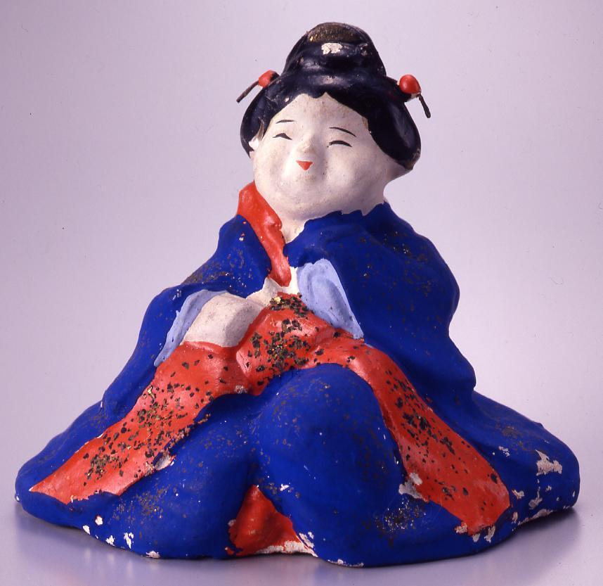 作品画像:今戸人形 芸者