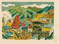 作品画像:炭山全図