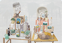 作品画像:若夫婦と黄色い家