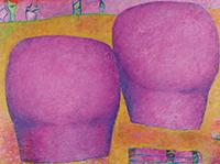 作品画像:ばら色の前方 後方
