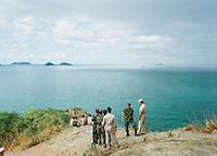 作品画像:<陸上の出来事>シリーズ タイとアメリカの海兵隊員と船員たち、タイランド湾(Ⅰ)