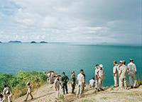 作品画像:<陸上の出来事>シリーズ タイとアメリカの海兵隊員と船員たち、タイランド湾(Ⅱ)