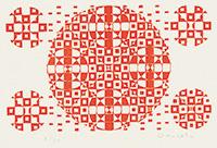 作品画像:赤い5つの丸