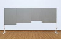 作品画像:4つの絵画と自立するための脚