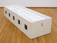 作品画像:白い箱舟(立体・ぬりえ)
