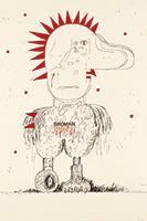 作品画像:BIRDMAN・テロのデッサン 2