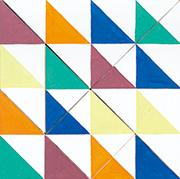 作品画像:Tangram-Painting (Flag)