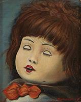 作品画像:ねむれる人形