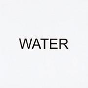 作品画像:インストラクション・ペインティング WATER