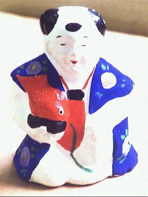 作品画像:今戸人形 鯛小僧