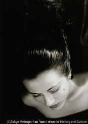 作品画像:長い髪の女
