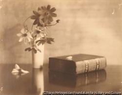 作品画像:本のある静物