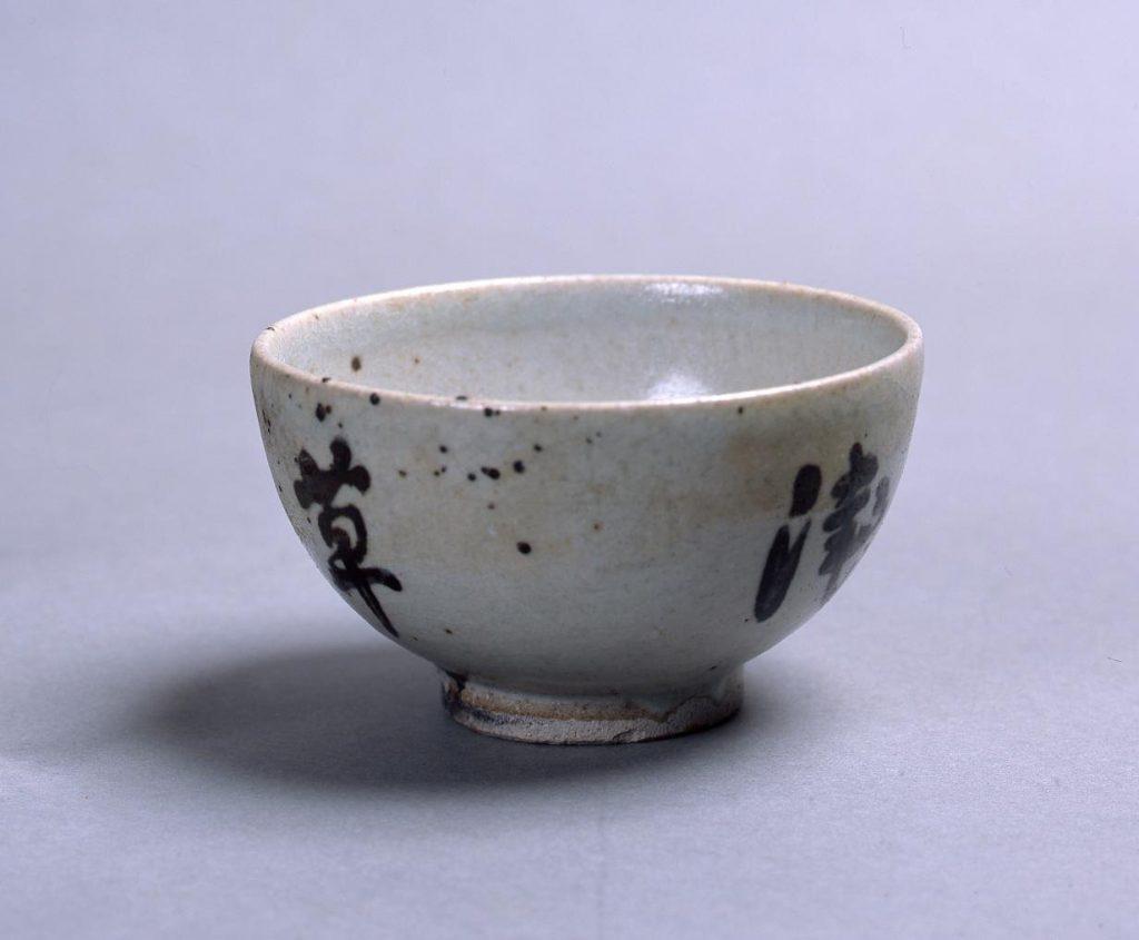 作品画像:染付茶碗「浅草寺」