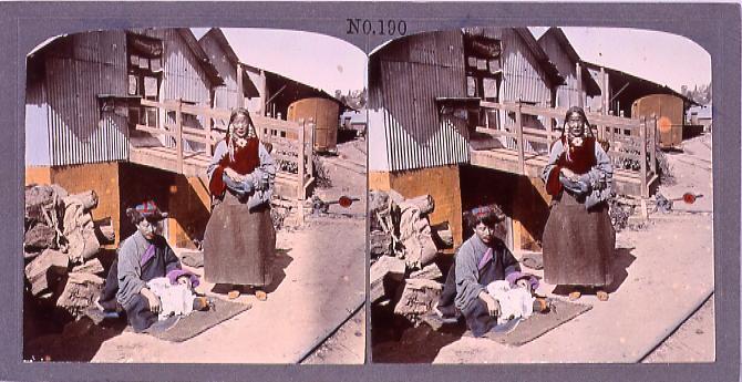 作品画像:チベット人(No.190)