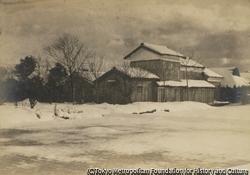 作品画像:雪の晴れ間