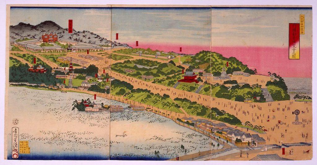 作品画像:内国勧業博覧会之図
