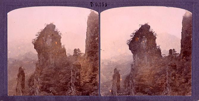作品画像:妙義山ろうそく岩(No.254)