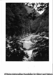 作品画像:オリオ谷落口付近