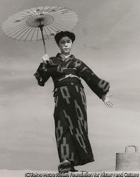 作品画像:ママと日傘