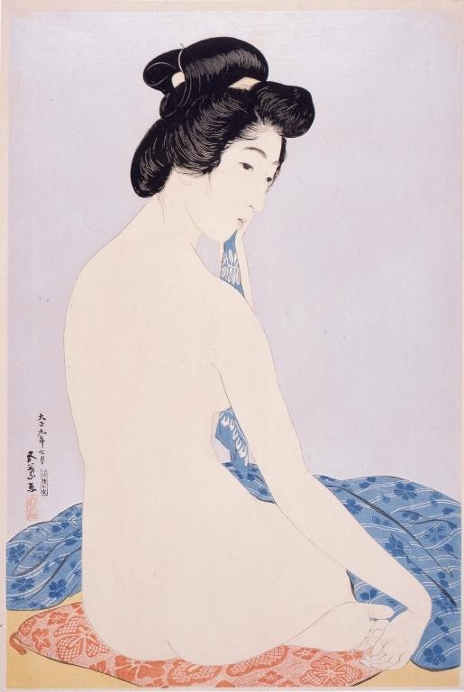 作品画像:浴後の女