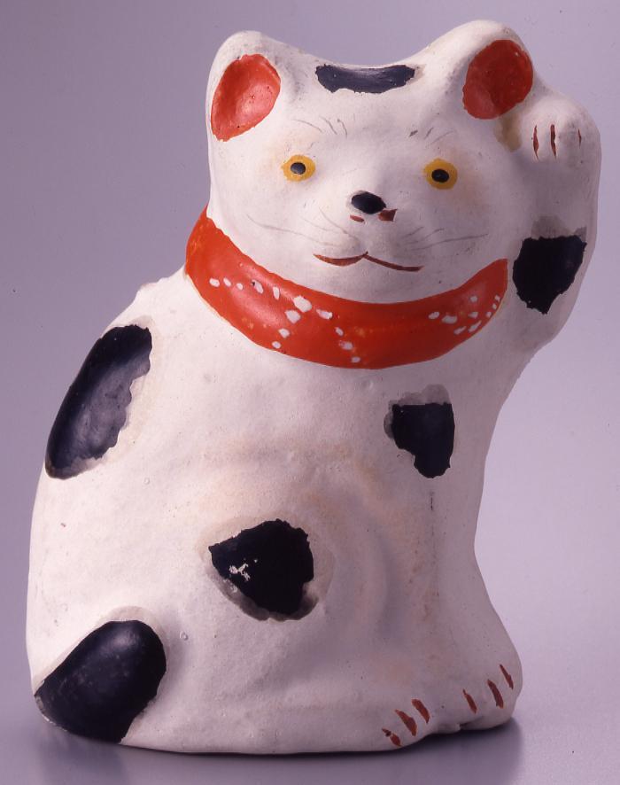 作品画像:今戸人形 招猫