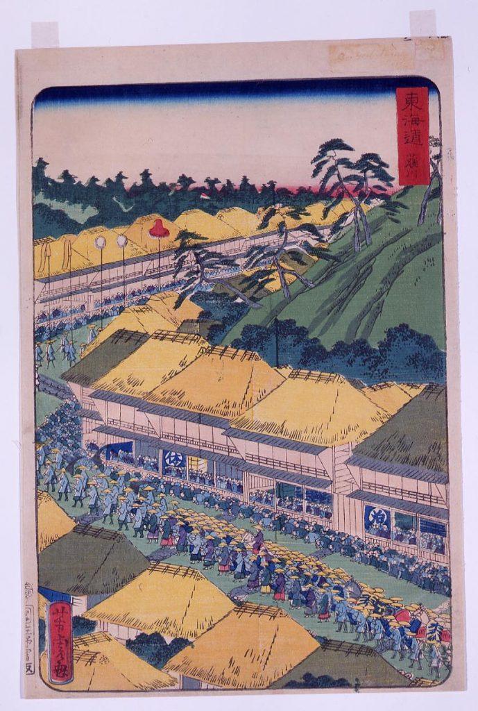 作品画像:東海道 藤川