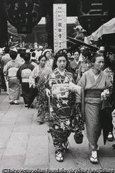 作品画像:東京浅草 ほおずきを買って帰る人