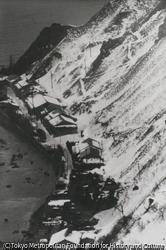 作品画像:雪に暮れる部落