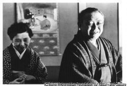 作品画像:谷崎潤一郎と夫人