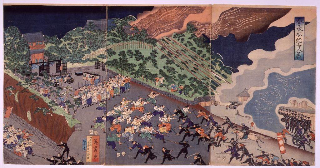 作品画像:春永本能寺合戦