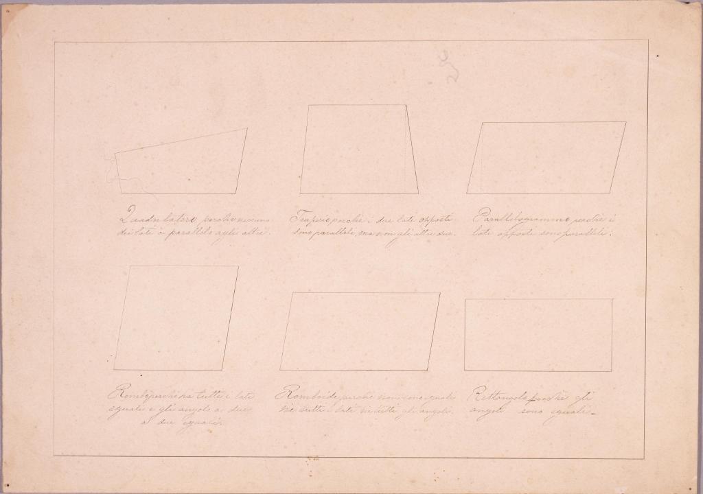 作品画像:図面習作 四角形