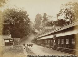 作品画像:江戸の薩摩藩邸