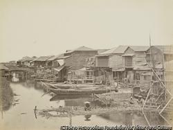 作品画像:横浜と運河
