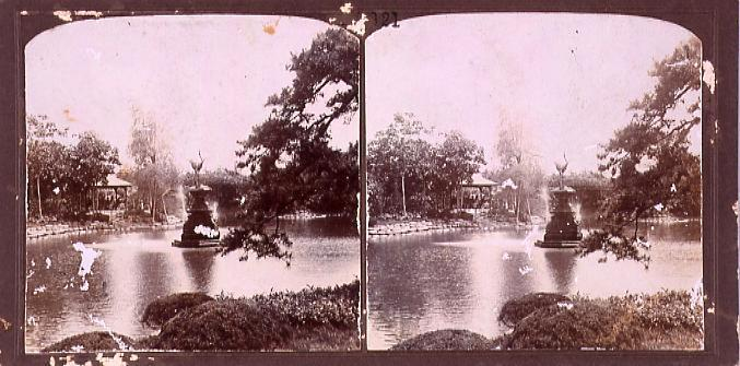 作品画像:公園の噴水(No.121)