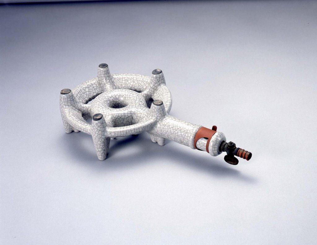 作品画像:陶製ガス七輪
